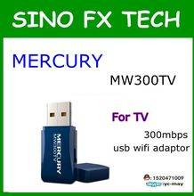 MW300TV MERCURY 300 M usb adaptador sem fio wi-fi apoio IPTV box