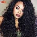 Бразильский Вьющиеся Волнистые Переплетения Испанский Волна Девы Волос 3 Bundle Предложения Королева Красоты Волна за Волосами 7А Человеческих Волос