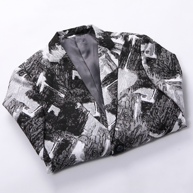 Men's Premium Abstract Pattern Casual Suit