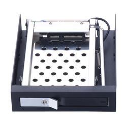 Для 3.5in floppy pc bay 2,5 дюймов с горячей вилкой SATA жесткий диск/твердотельные накопители Мобильная стойка с функцией блокировки ключа HDD стеллаж