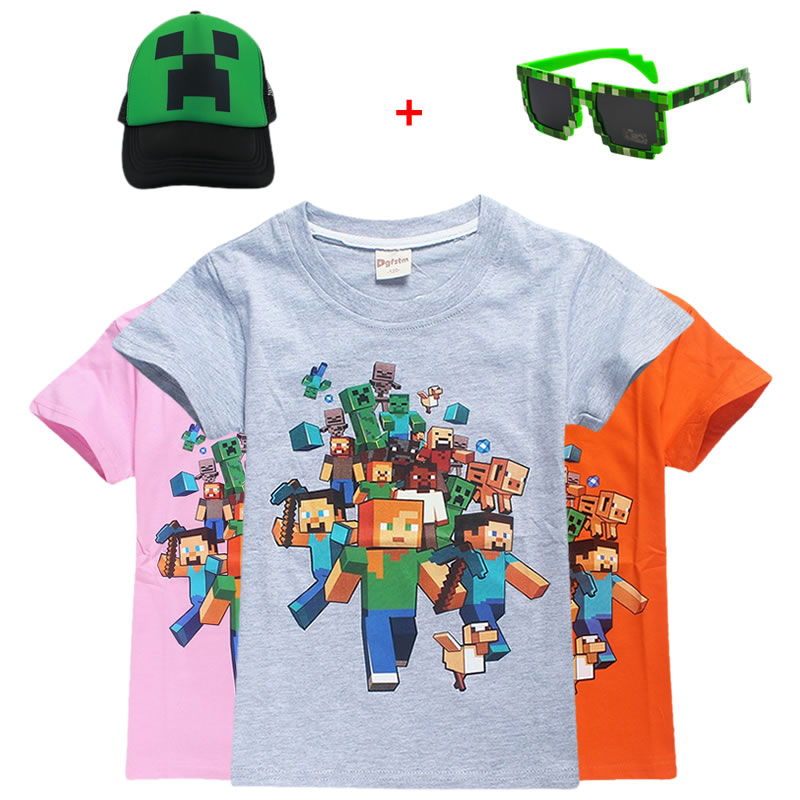 Good quality and cheap minecraft tshirt in Store Xprice
