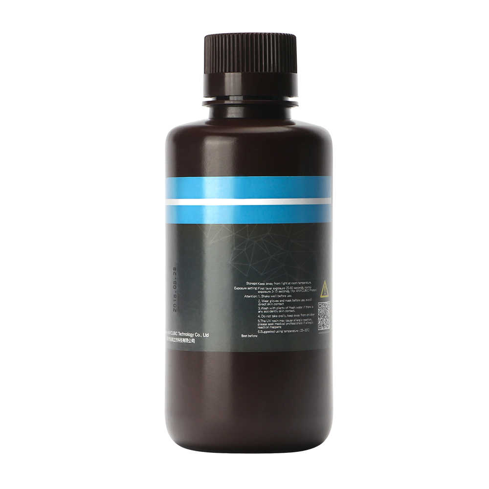Resina UV ANYCUBIC 405nm para fotones, impresora 3d, resina sensible a UV LCD de 1L/500ML, Material de impresión, resina UV fotosensible