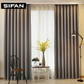 Solid Color Faux Linen Blackout Curtains for Living Room Modern Curtains for Bedroom Window Curtains kitchen Curtains Blinds
