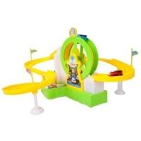 在庫トーマスと友人のおもちゃ子供教育音楽ライト観覧車スロットトーマスは列車レールトラック車子供のおもちゃ