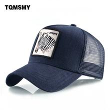 Unisex bone Embroidery zebra Baseball Cap men Snapback Caps man s dad hat Breathable Mesh sun