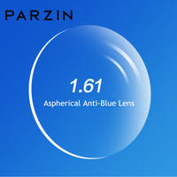 PARZIN High Quality 1.61 Anti Blue Light Myopia Lens For Prescription Glasses Aspherical Optics Lenses Ultra Thin Accessories