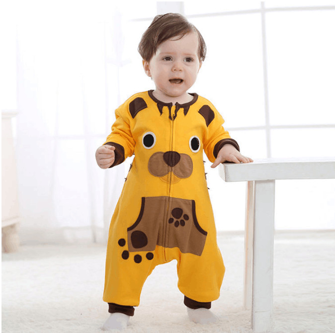 Androktone Newborn Infant Baby Clothes Pure Cotton Lovely Tiger Romper Hooded Jumpsuit Onesie Cosplay Boys Girls Spring Costume
