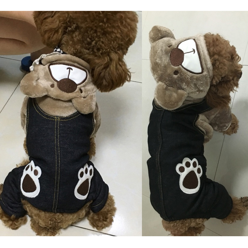 Winter Pet Dog Jumpsuit For Small Dogs Fleece Cotton Pet Dog Sweater Puppy Jumpsuit Yorkie Romper Cat Dog Jumpsuit Clothes RQ005 (11)