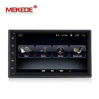 Quad Core 7 2 Din Android 8.0 Car DVD Radio Multimedia Player 1024*600 Universal GPS Navigation autoradio Stereo Audio