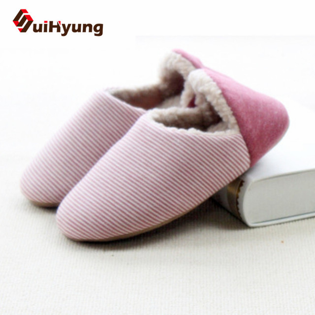 New Winter Warm Cotton-padded Shoes For Men Women. Home Soft Plush Slippers Coral Fleece Indoor Shoes Floor Socks Foot Warmer