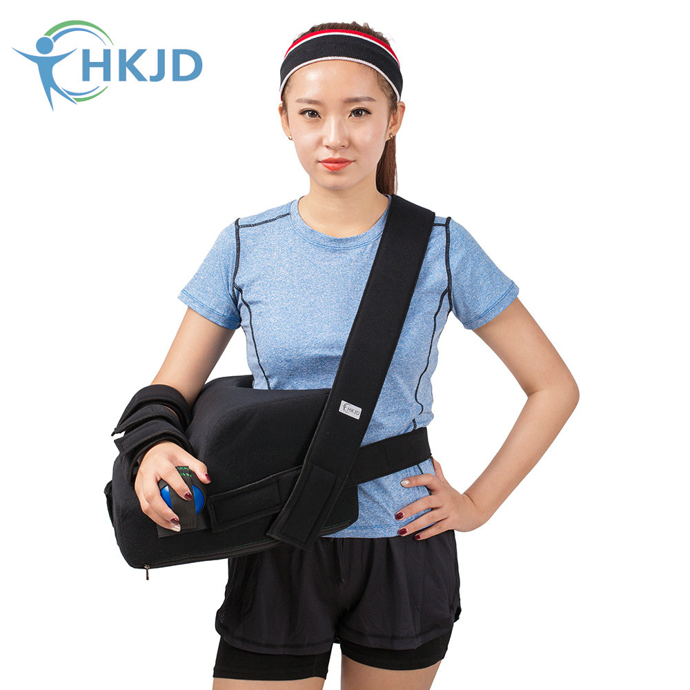 Fixed Shoulder Joint In 45 Degrees Of Abduction Shoulder Sling Shoulder Immobiliser with Exercise Ball shoulder abduction orthosis suitable for shoulder joint surgery after fixation free of shipping