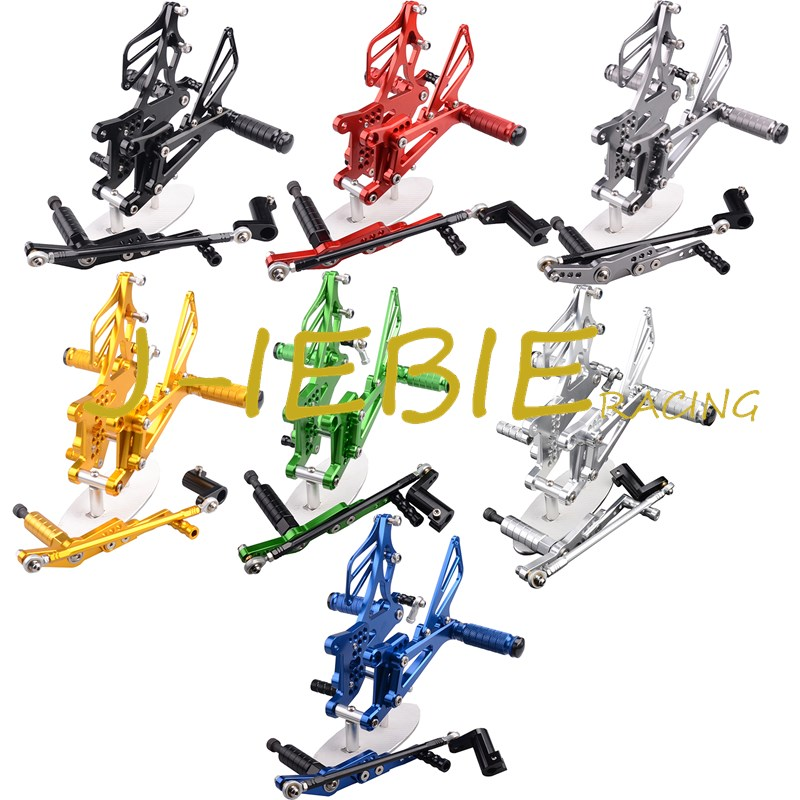 CNC Racing Rearset Adjustable Rear Sets Foot pegs Fit For Yamaha YZF R1 2007 2008 morais r the hundred foot journey