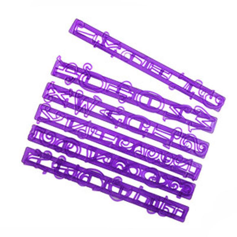 6pcsset fondant alphabet cutter mold letter cutter cake decorating tools set d960china