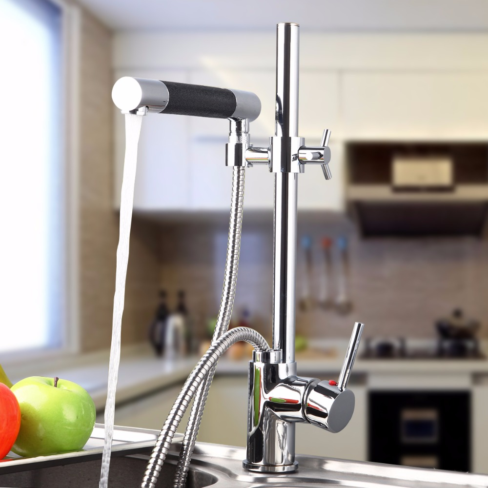 BEST Kitchen Sink Faucet Adjustable Height for Washing Kitchen Sink ...