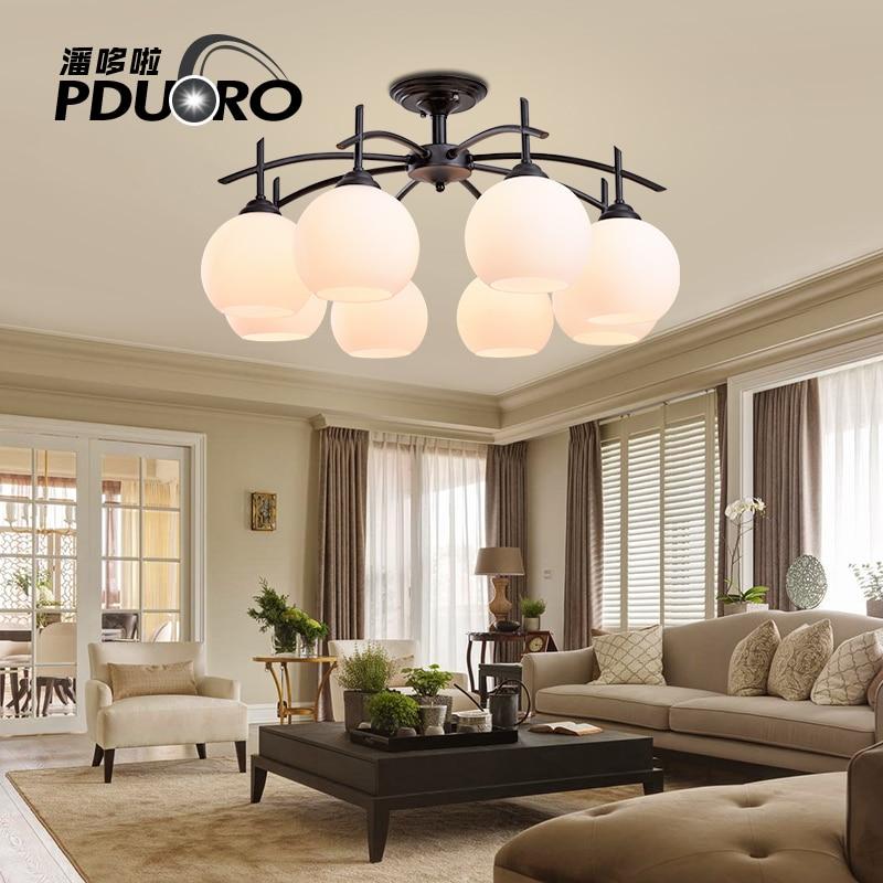 European fashion Modern LED chandelier light lamp lighting minimalist living room lights bedroom villa Hotel Restaurant fixture