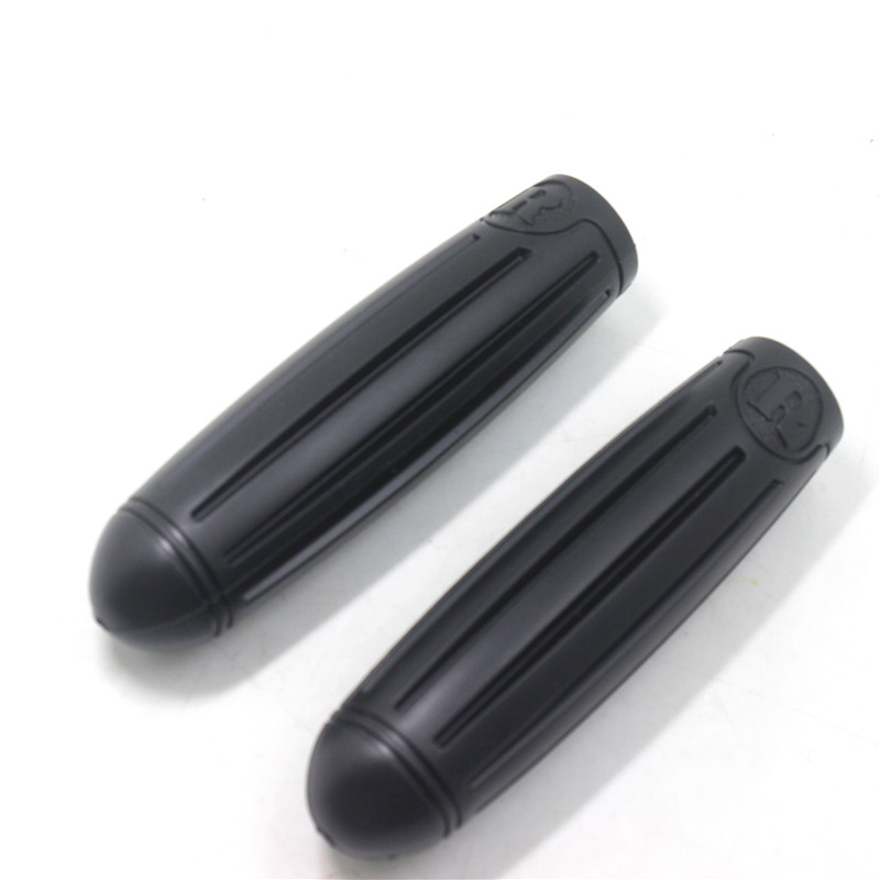CHOOSE Rubber Vintage Bicycle Grips Black Classic Bike Handlebar Grips Bike Handle Bike Accessory 2 Colors in Bicycle Grips from Sports Entertainment