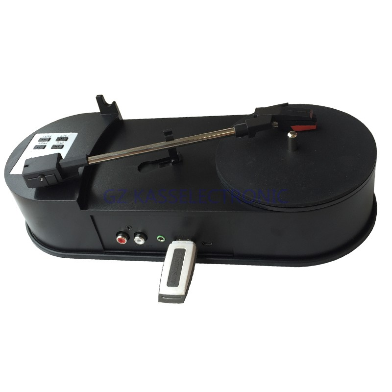 2017 New Turntable Vinyl Converter , Convert Vinyl Turntable To Mp3 Directly Into USB Flash Disk, TF Card. Free Shipping