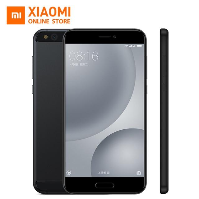 Original Xiaomi MI5C MI 5C Mobile Phone 3GB RAM 64GB ROM Pinecone Surge S1 SoC Octa core 2.2GHz 12.0mp Fingerprint ID