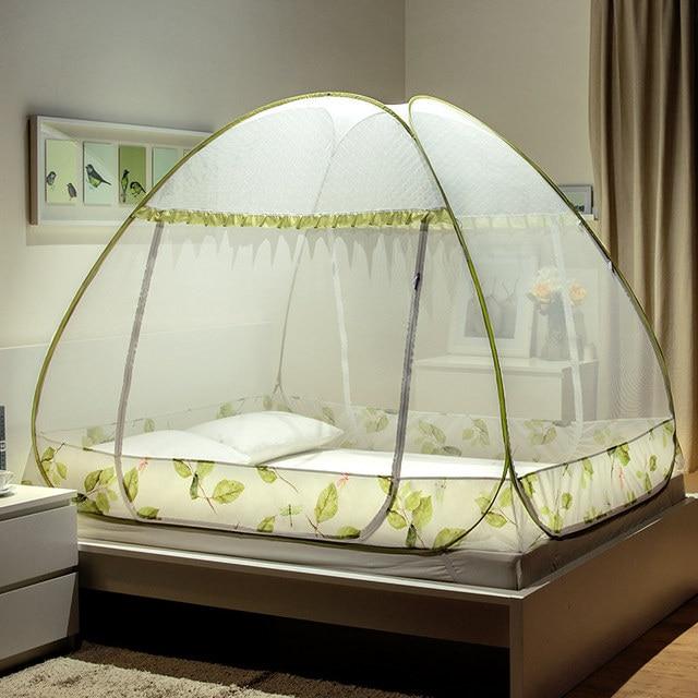 moustiquaire pour lit double pliant tente lit pour adultes. Black Bedroom Furniture Sets. Home Design Ideas