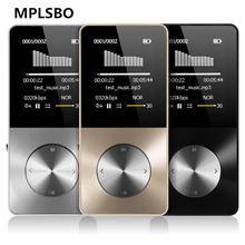 MPLSBO HiFi Metal MP4 Player Built-in Speaker 4GB 8GB 16GB 1.8 Inch Screen TF card slot Card with Video Alarm FM E-Book