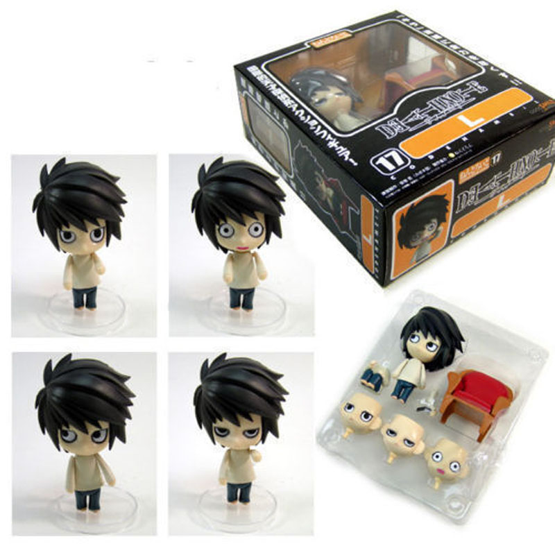 NEW NENDOROID Good Smile Death Note Detective L Scene Figure #17 New In Box Free shipping ZB076 1