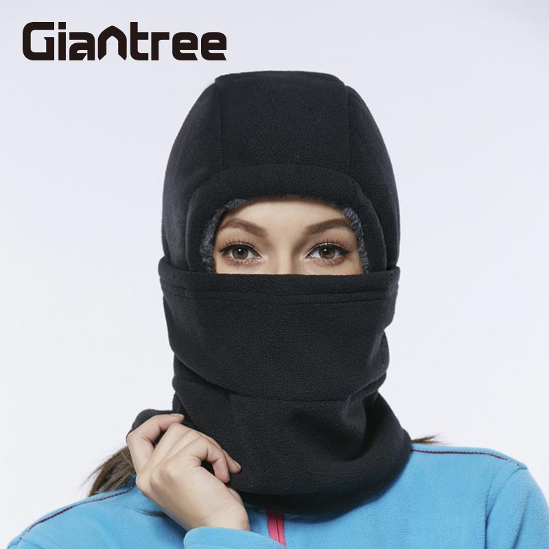 giantree Leisure Mask Blue Riding Mask Keep Warm Outdoor Hat Black Mountaineering Riding Protection Mask