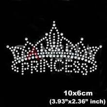15pcs lot New princess crown design rhinestone motif Hotfix rhinestone for  garment Iron on heat transfer diy patches(ss-6002) 8a3aeb6c3080