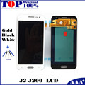 Replacement LCD for Samsung Galaxy J2 J200 J200F J200H LCD Display Screen Digitizer Assembly - Black/White/Gold  with Free Tools