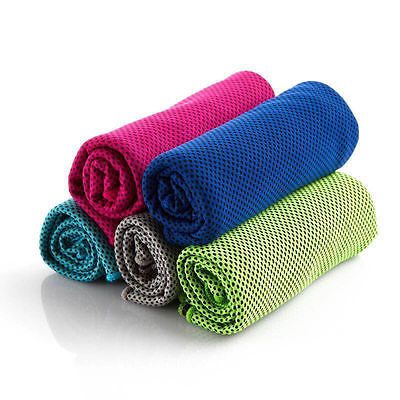 US Instant Cooling Towel ICE Cold Golf Cycling Jogging Gym S