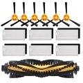 Сменный комплект аксессуаров  фильтр  основная щетка  боковая щетка Для Ecovacs DEEBOT N79S N79  Роботизированный пылесос (фильтр + щетка)
