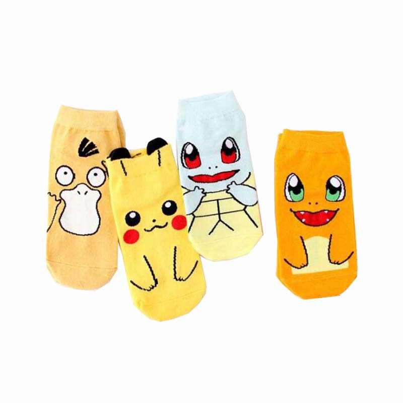 Recommend !!cartoon   socks   women spring summer colorful cute   socks   woman's and lady funny animal short cotton   sock