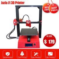 Big Sale Jazla J1 MINI 3D Printer 230 X 230 X 230 DIY Kits 3D Printer Full Metal Frame Printing Support SD Card For Office Home