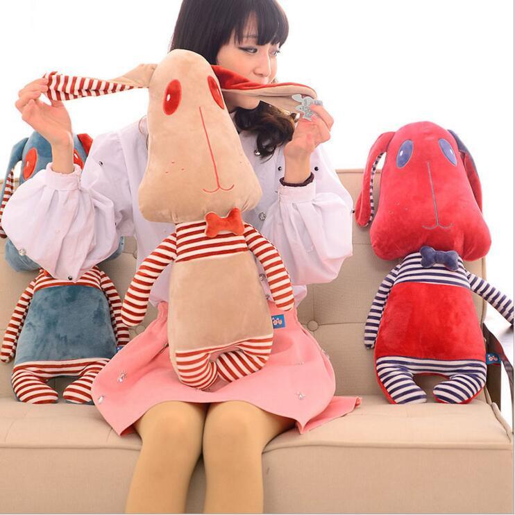 65cm Plush Dog Soft Toys Animal Doll Stuffed Toys For Baby Kids Children Cushion Pillow Birthday Gift 1pcs 45cm creative mushroom pillow soft cushion vegetable plush toys at home decorate doll stuffed plush birthday gift