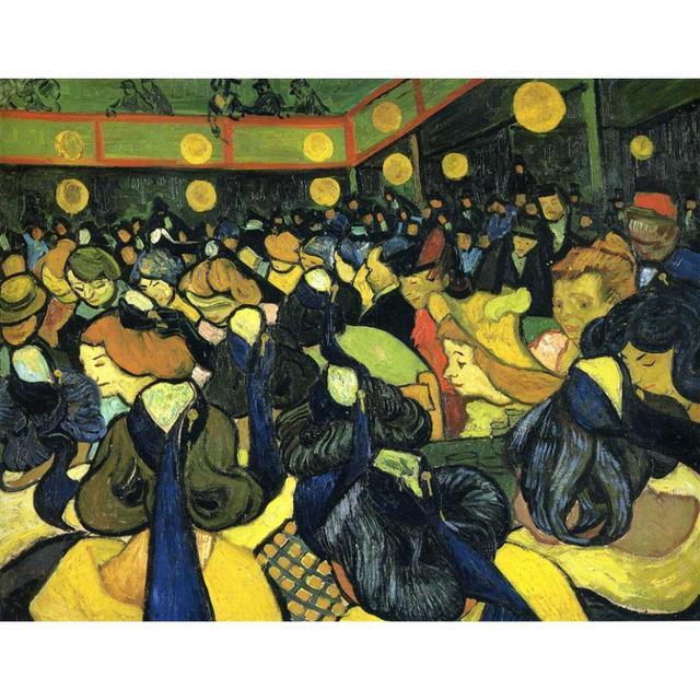 a2fef0085ea O salão de baile em Arles por Vincent Van Gogh reprodução pinturas a Óleo  Paisagens art