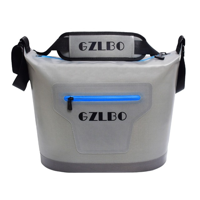 Gzl 20 Cans Cooler Bag Small Size Waterproof Lunch Picnic Shoulder