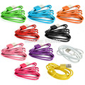 For Apple iPhone 7 7s 6 6s iphone6 5 5S G IOS Newest 1m 2m 3m colorful Lace Wire 8Pin USB Sync Data Charging Charger Cable Cords