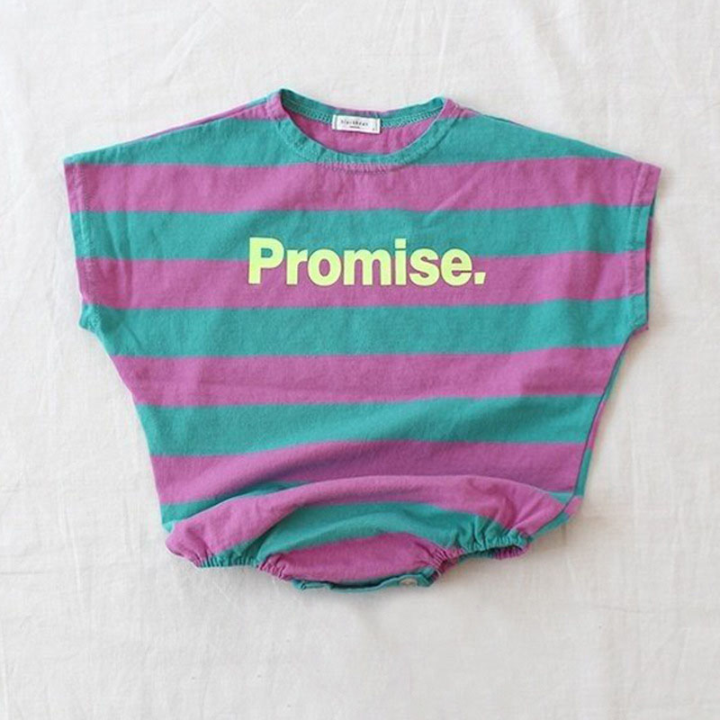 MILANCEL 2019 Summer Baby Bodysuits Korean Style Baby Clothing Classical Striped Infant Boys Jumpsuit