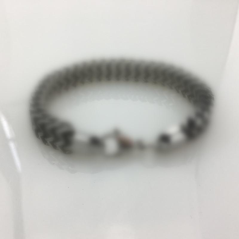 B003 серебро металлический Браслет пара ювелирные изделия два размер