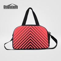 Dispalang 2017 Hot Sale Canvas Travel Duffle Bags For Women Fashionable Traveling Weekend Shoulder Bag Clothes