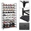 Multi Schicht Schuh Rack Hohe Qualität Eisen Rohr Einfach Installieren Schrank Regal Home Storage Organizer Rack Ständer Halter Raum SavingHWC
