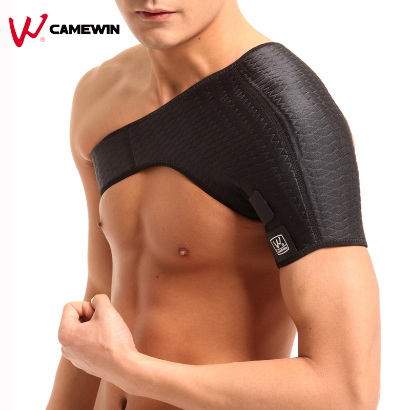 Rückenstütze One Shoulder Guard Schulterstütze Brace Posture Gym Sport Guard Schulterpolster Back Support One Pcs 0668