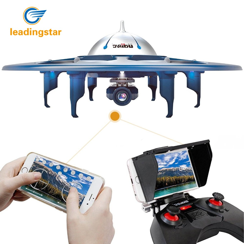 LeadingStar UDI U845 WiFi 2.4GHz 6 Axis Gyro RC FPV Drone RTF Quadcopter with 2.0 MP HD Camera Remote Control 2 Batteries zk35 get an extra battery original hubsan fpv x4 plus h107d with 720p hd camera 6 axis gyro rc quadcopter rtf in stock