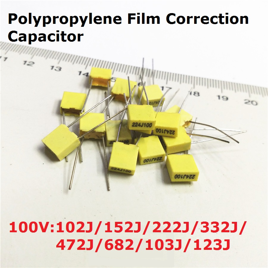 20pc Polypropylene Film Capacitor 100v 153j100 223j100 333j100 138v 40a Switching Power Supply By Lm3524 And Lm324 More Products
