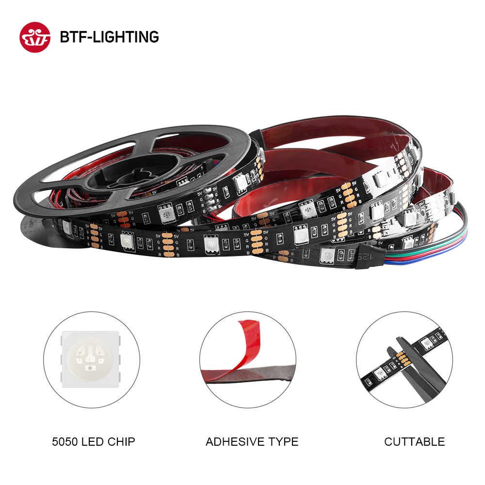 DC5V USB Светодиодные ленты лампы 5050 гибкий RGB светодиод Подсветка 1 M 2 M 3M USB кабель HD ТВ стационарного персонального компьютера Экран светящаяся лента с задней подсветкой