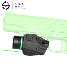 2019 New product Led Flashlight and Green Laser Sight Combo