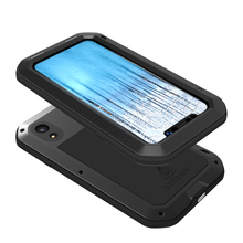 Aluminum Metal Cover For iphone XR Waterproof Full Body Heavy Duty Armor Case Shockproof for iphoneXR
