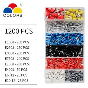 Image 5 - Ajustable alicates de engarce de Terminal de Cable Stripper de herramienta que prensa con terminales 1200 Kit