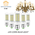 BRIGHTINWD 10pcs/lot Bombilla Led E27 220V 24 36 48 56 69leds Corn Bulb SMD 5730 Spotlight Energy Saving Led Lamp Light For Home