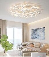 Lampe wohnzimmer lampe einfache moderne atmosphäre zu hause led kreative persönlichkeit master schlafzimmer lampe Nordic geweih decke lampe Deckenleuchten    -