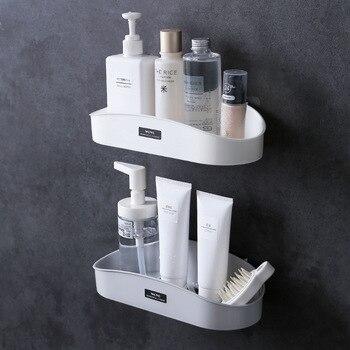 Bathroom shelf storage shelf storage organizer shower wall shelf  1